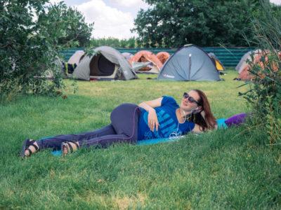 база отдыха с палатками